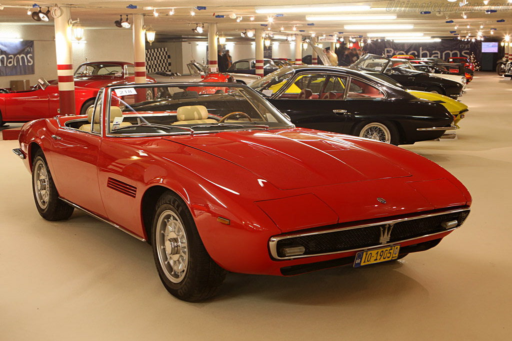 Maserati Ghibli Spyder - Chassis: AM115/S/1025   - 2007 Bonhams Gstaad Auction