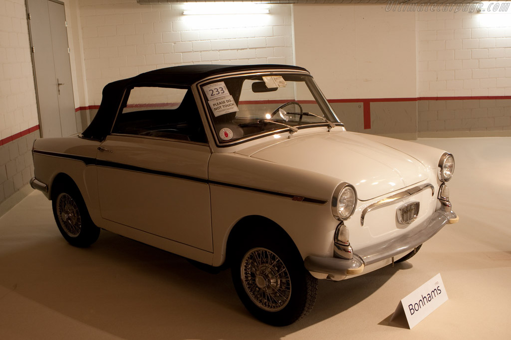Autobianchi Bianchina Eden Roc Cabriolet - Chassis: 110B122004091   - 2008 Bonhams Gstaad Auction