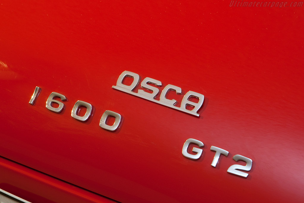 OSCA 1600 GT Fissore Coupe - Chassis: 00103   - 2008 Bonhams Gstaad Auction
