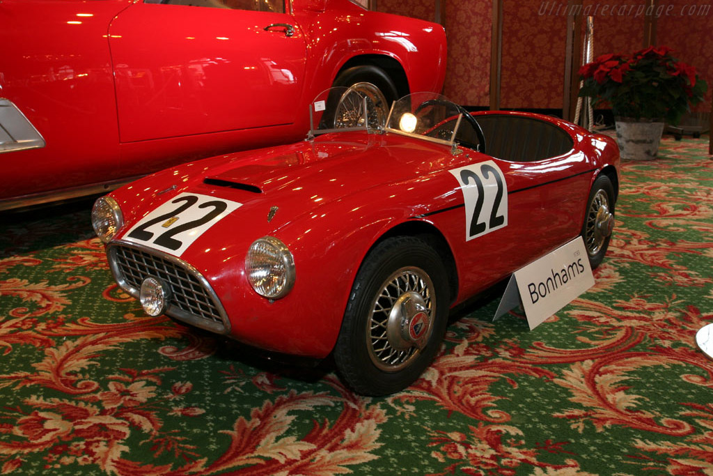 Ferrari 166 MM pedal car    - 2005 Bonhams Gstaad Auction