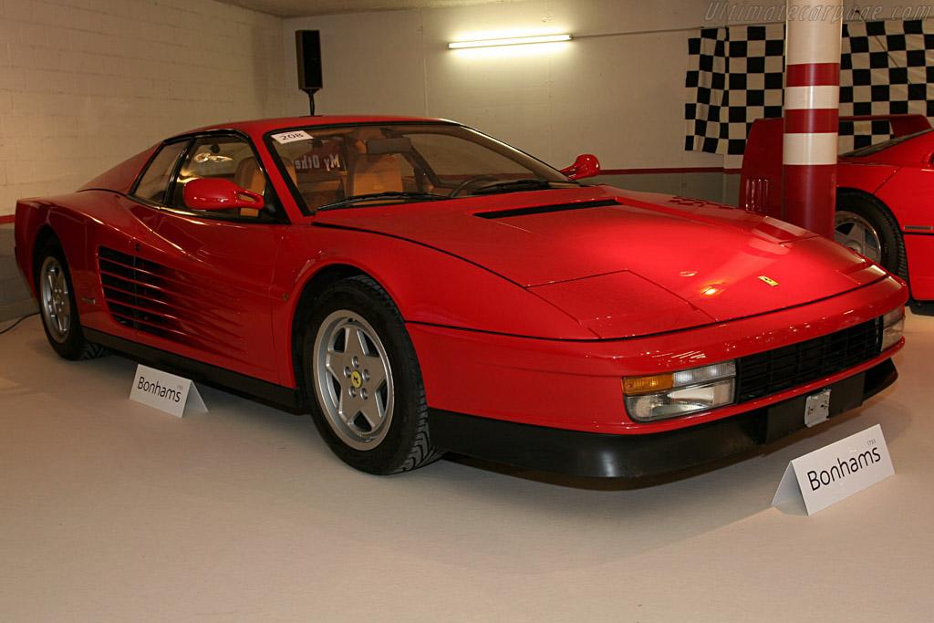 Ferrari Testarossa - Chassis: 89380   - 2005 Bonhams Gstaad Auction