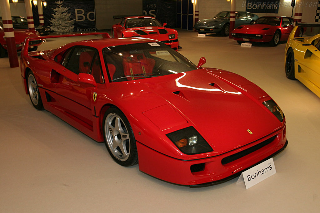 Ferrari F40 - Chassis: 86762   - 2006 Bonhams Gstaad Auction