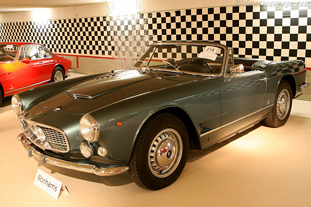 Maserati 3500 GTI Spyder - Chassis: AM101.1353   - 2006 Bonhams Gstaad Auction