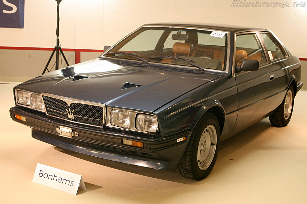 Maserati Biturbo - Chassis: ZAM331B00EB108399   - 2006 Bonhams Gstaad Auction