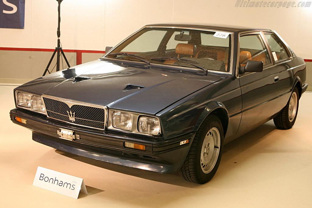 Maserati Biturbo - Chassis: ZAM331B00EB108399   - 2006 Bonhams Gstaad Auction