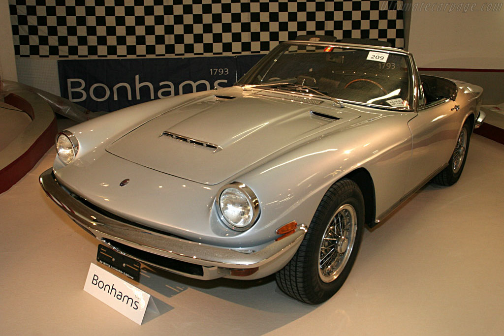 Maserati Mistral Spyder - Chassis: AM109/SA*1717   - 2006 Bonhams Gstaad Auction