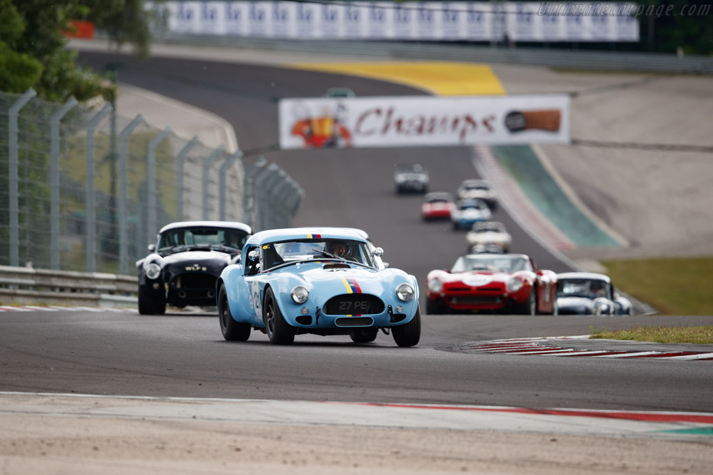 AC Shelby Cobra 289 - Chassis: CSX2232 - Driver: James Cottingham / Andrew Smith - 2019 Hungaroring Classic