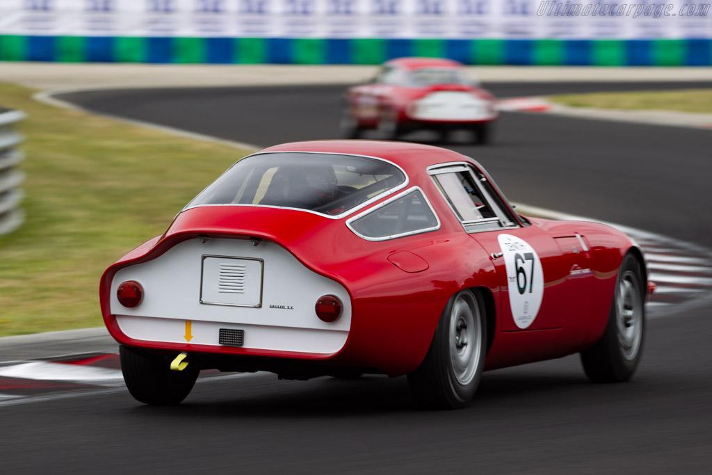 Alfa Romeo Giulia TZ - Chassis: AR10511 750030 - Driver: Jean-Luc Papaux / Roberto Restelli - 2019 Hungaroring Classic