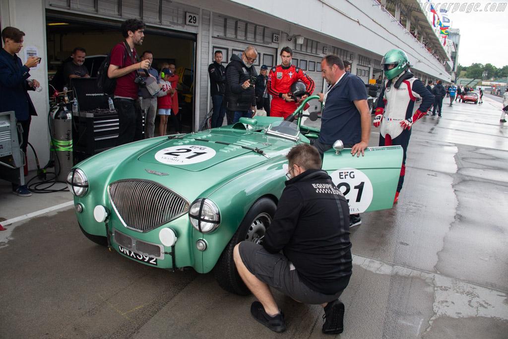 Austin Healey 100S  - Driver: Baptiste Guyot-Sionnest / Mathieu Guyot-Sionnest - 2019 Hungaroring Classic