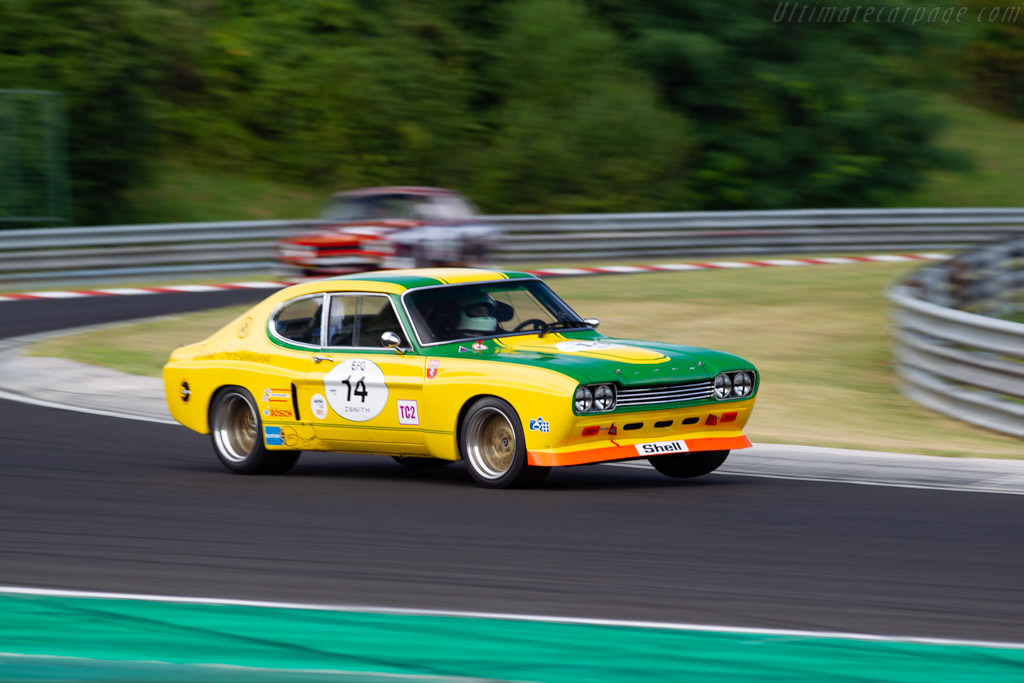 Ford Capri 2600 RS - Chassis: GAECMR57537 - Driver: Yves Vögele - 2019 Hungaroring Classic