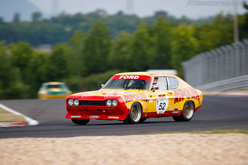 Ford Capri 2600 RS - Chassis: GAECLE42482 - Driver: Yves Scemama - 2019 Hungaroring Classic