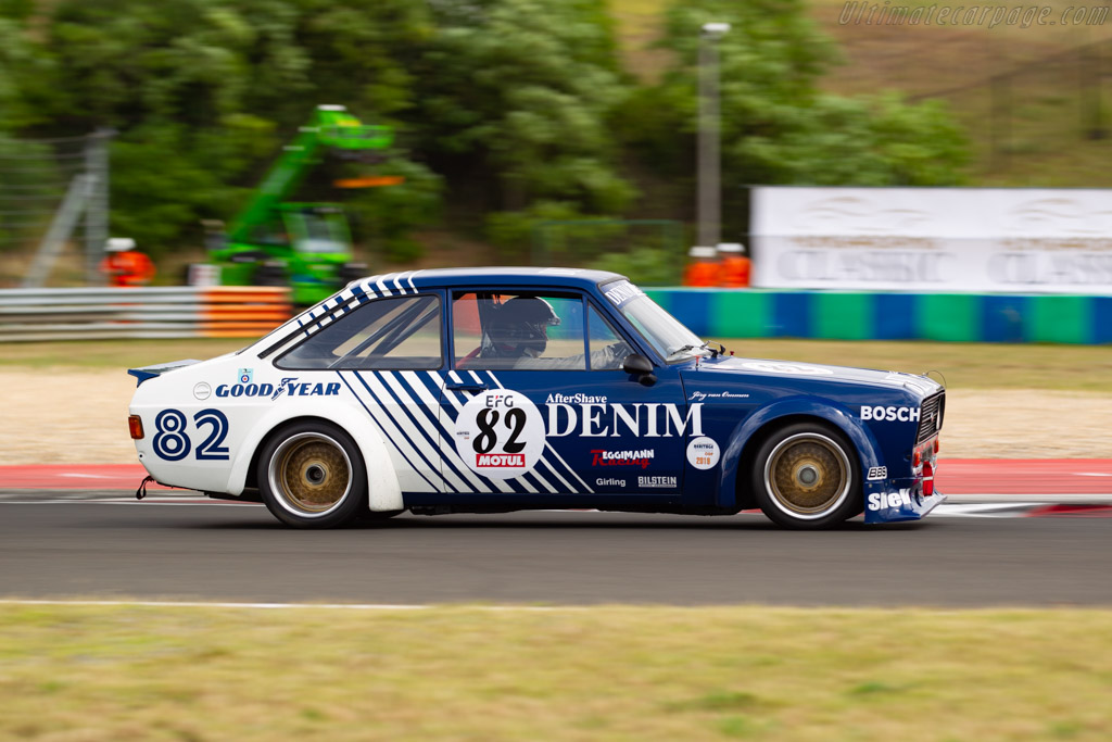 Ford Escort 1600 RS Zakspeed - Chassis: ZAKG4-001 - Driver: Martin Kuendig - 2019 Hungaroring Classic