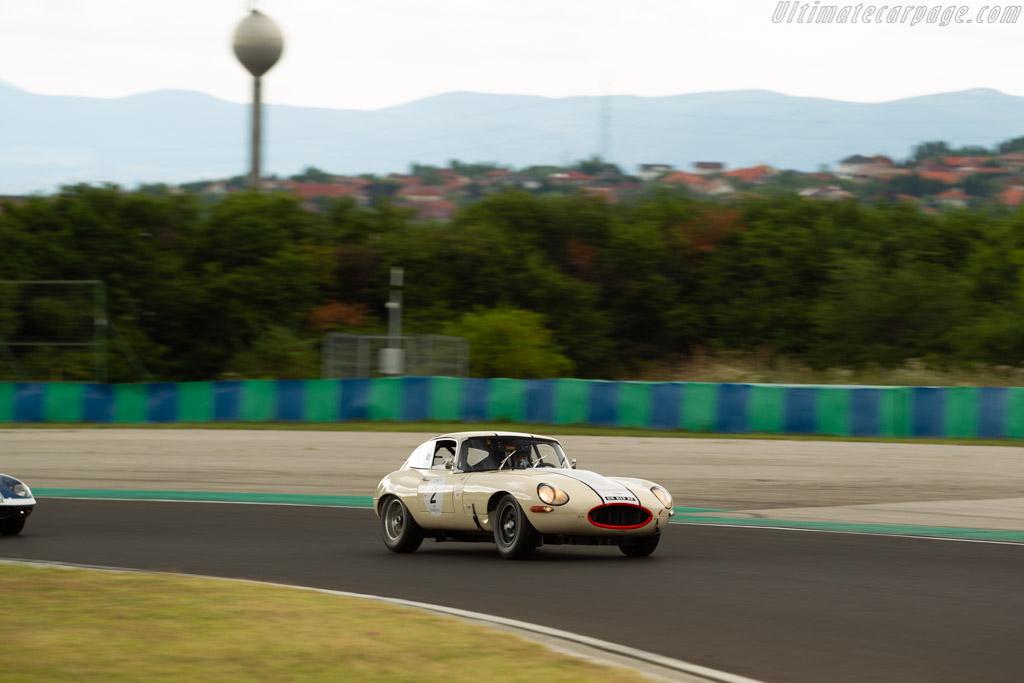 Jaguar E-Type - Chassis: 888825 - Driver: Fabrice Mestrot / José Da Rocha - 2019 Hungaroring Classic