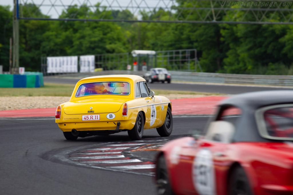 MG B  - Driver: Bart Blommaert / Rikkert Leeman - 2019 Hungaroring Classic
