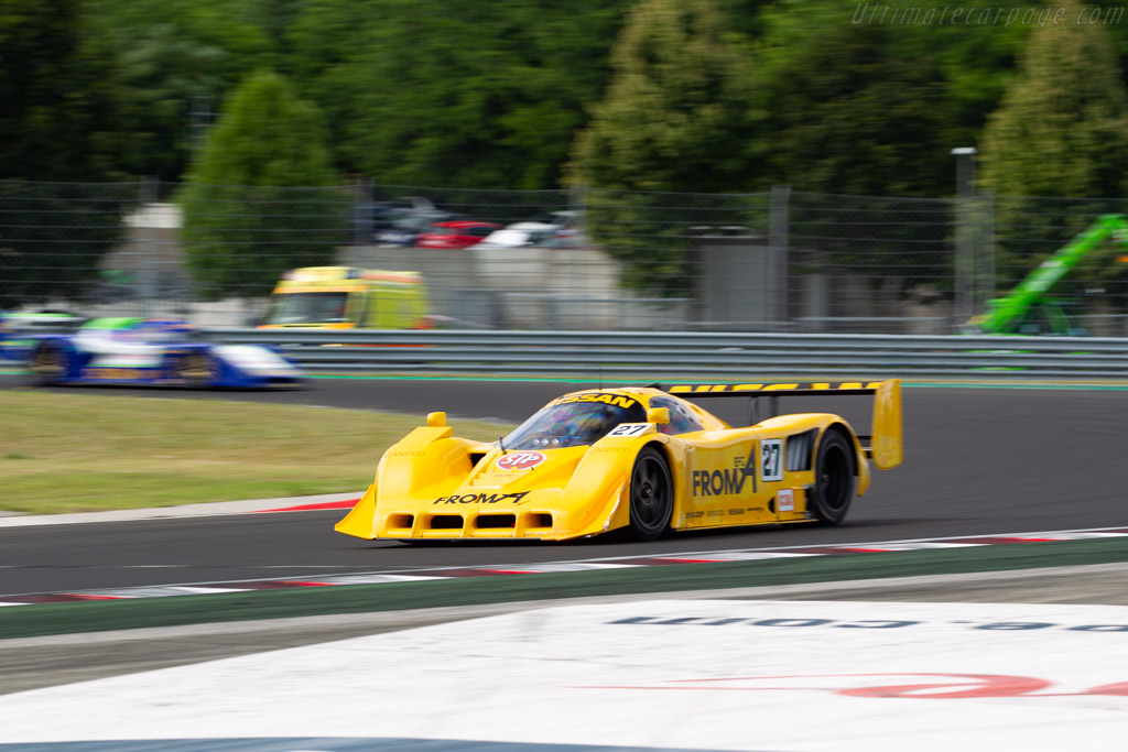 Nissan R90CK - Chassis: R90C/7 - Driver: Pierre-Alain France / Erwin France - 2019 Hungaroring Classic
