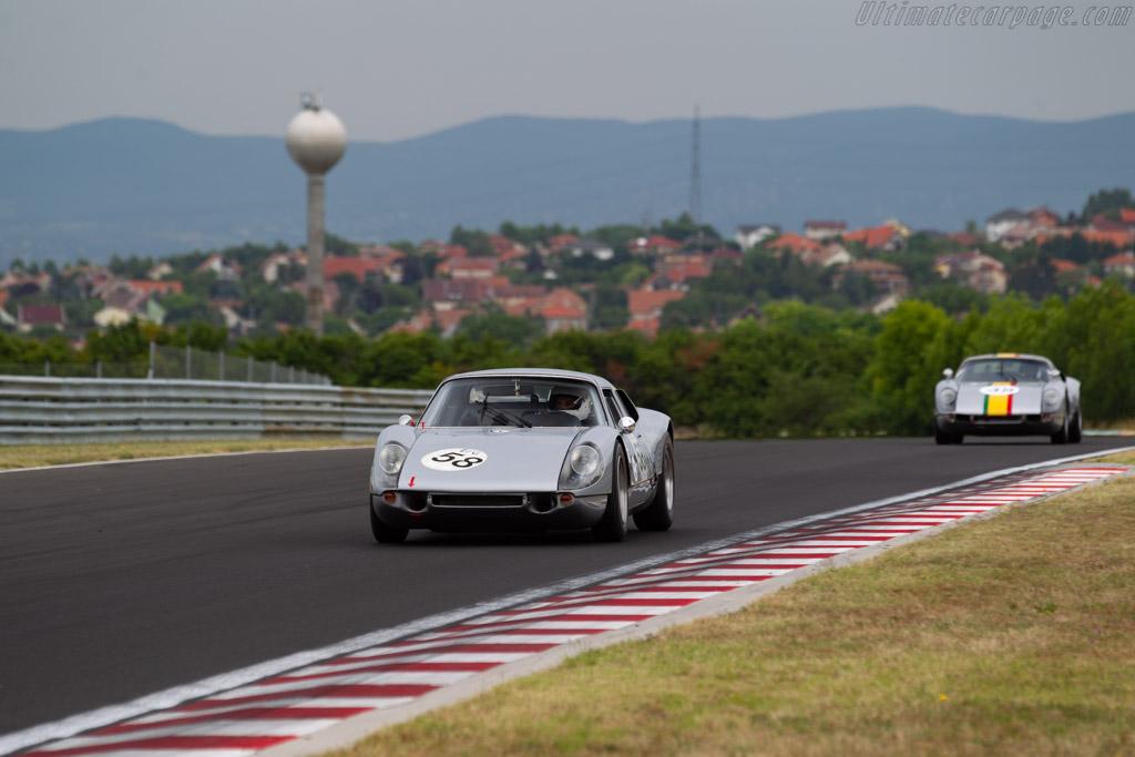 Porsche 904/6 - Chassis: 906-002 - Driver: Yves Vögele - 2019 Hungaroring Classic