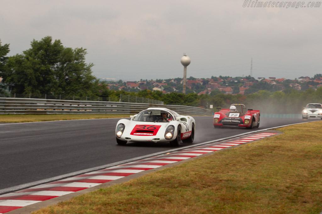 Porsche 910 - Chassis: 910-005 - Driver: Uwe Bruschnik - 2019 Hungaroring Classic