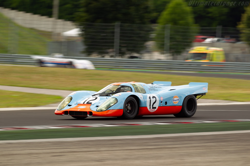 Porsche 917K - Chassis: 917-008 - Driver: Claudio Roddaro - 2019 Hungaroring Classic