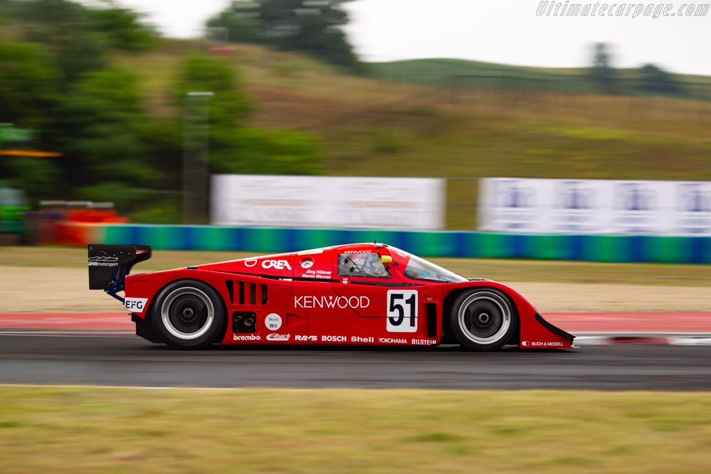Porsche 962C - Chassis: CK6-08/03 - Driver: Hans-Jörg Hübner - 2019 Hungaroring Classic