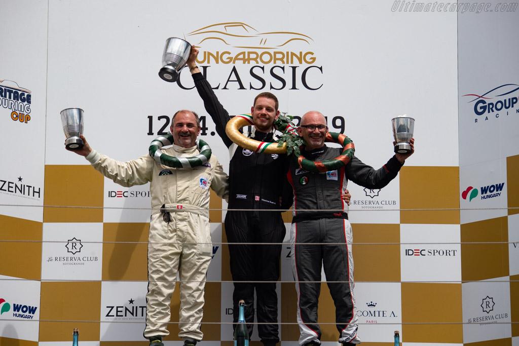 The Podium   - 2019 Hungaroring Classic