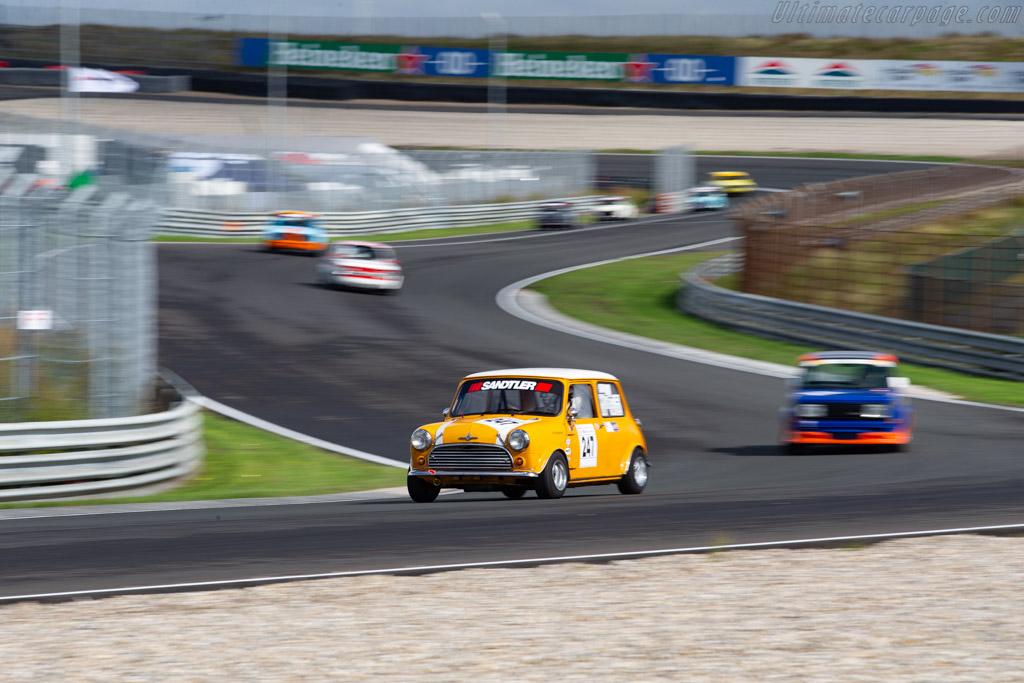 Austin Mini Cooper S  - Driver: Bernd Horlacher - 2020 Historic Grand Prix Zandvoort