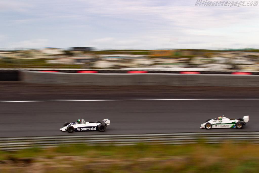 Brabham BT49D - Chassis: BT49D/18 - Driver: Christophe D'Ansembourg - 2020 Historic Grand Prix Zandvoort