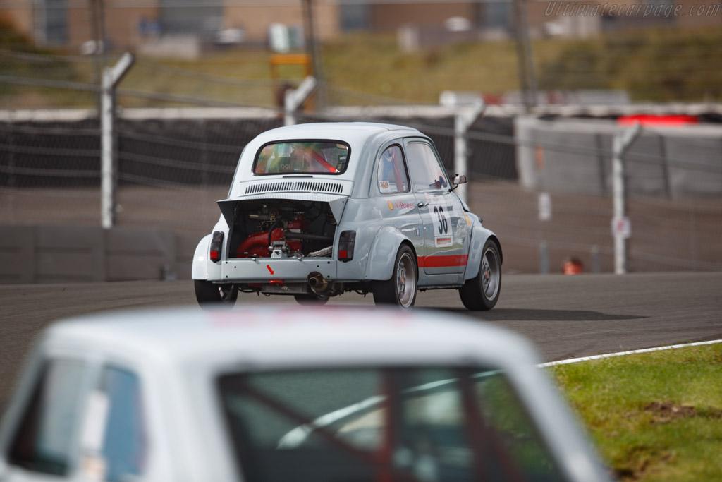 Fiat Abarth 695  - Driver: Manuel Vizza - 2020 Historic Grand Prix Zandvoort