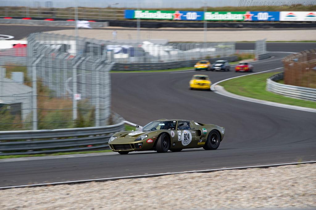 Ford GT40  - Driver: Stahl / Mathai - 2020 Historic Grand Prix Zandvoort