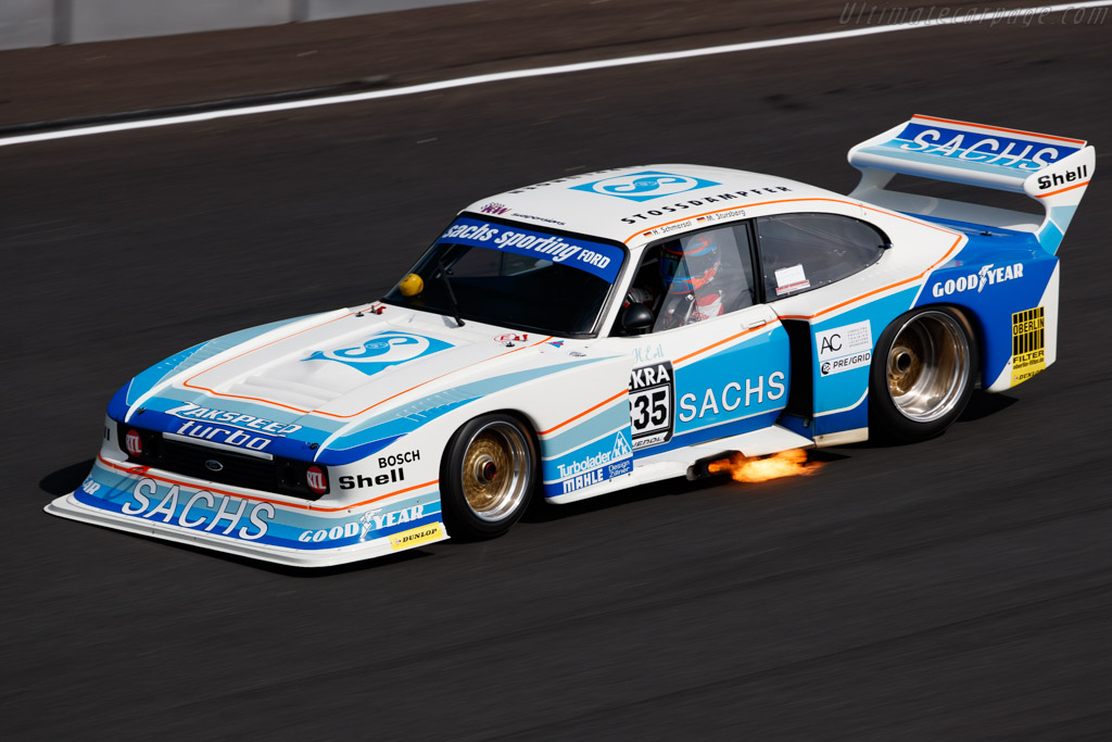 Ford Zakspeed Capri - Chassis: ZAK-G5C-002/79 - Driver: Schmersal / Stursberg - 2020 Historic Grand Prix Zandvoort
