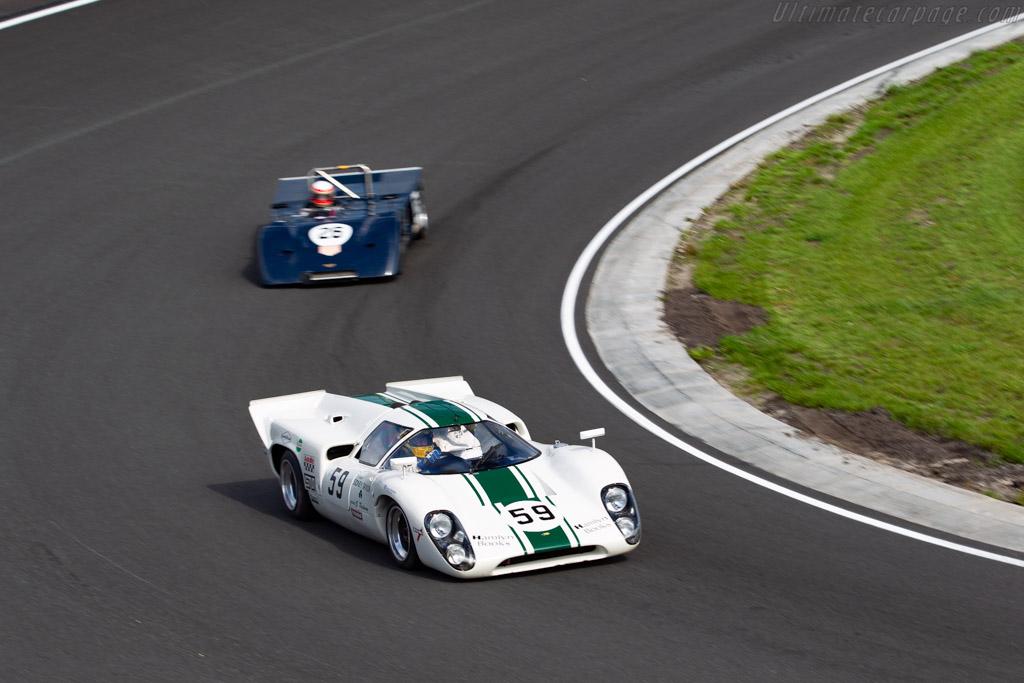 Lola T70 Mk3b - Chassis: SL76/138 - Driver: Brooks / Beebee - 2020 Historic Grand Prix Zandvoort