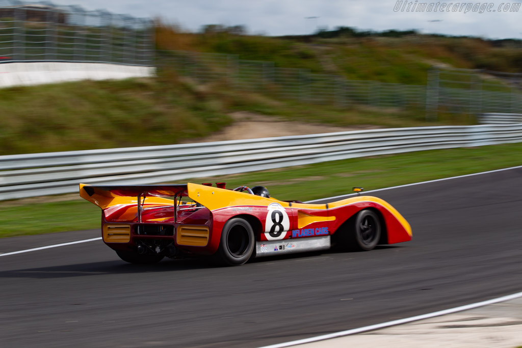 McLaren M8E/F - Chassis: 80-11 - Driver: Peter Schleiffer - 2020 Historic Grand Prix Zandvoort
