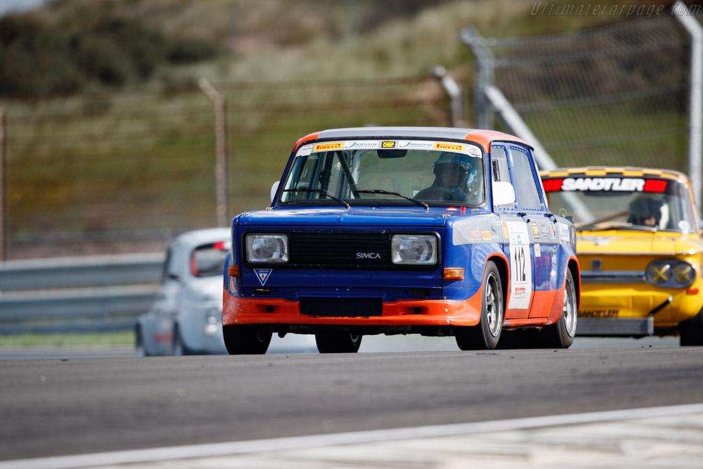 Simca Rallye 3  - Driver: Carlo Vizza - 2020 Historic Grand Prix Zandvoort