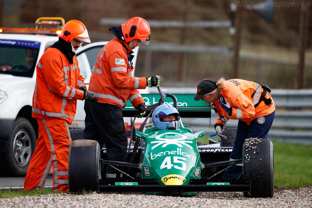 Tyrrell 011 - Chassis: 011/6 - Driver: Jamie Constable - 2020 Historic Grand Prix Zandvoort
