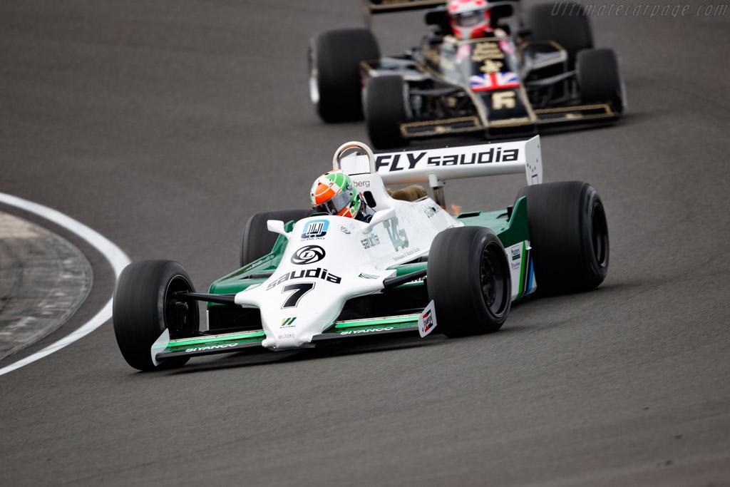 Williams FW07C - Chassis: FW07C/17 - Driver: Mike Cantillon - 2020 Historic Grand Prix Zandvoort