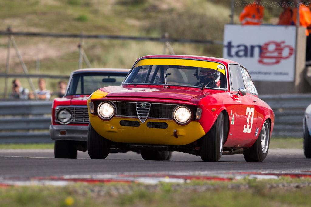 Alfa Romeo Giulia GTA Corsa - Chassis: AR613056 - Driver: Alexander Furiani / Frank Stippler  - 2015 Historic Grand Prix Zandvoort