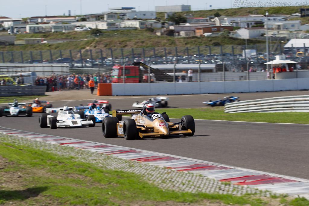 Arrows A3 Cosworth - Chassis: A3-3 - Driver: Marc Devis - 2015 Historic Grand Prix Zandvoort