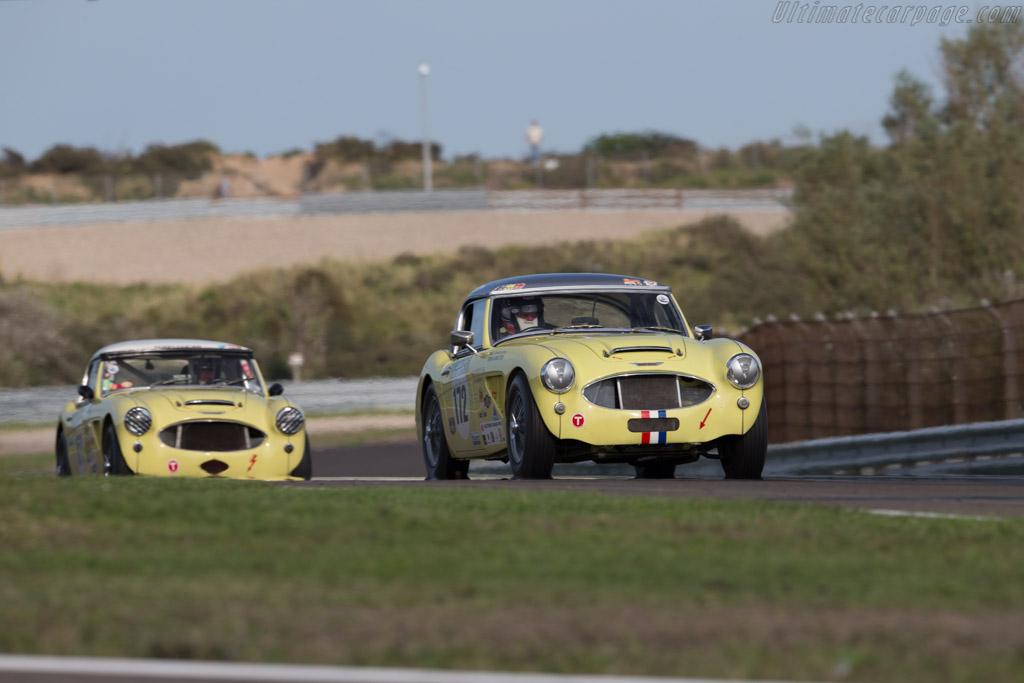Austin Healey 3000 - Chassis: HBT7L-3319 - Driver: Cor Visser  - 2015 Historic Grand Prix Zandvoort