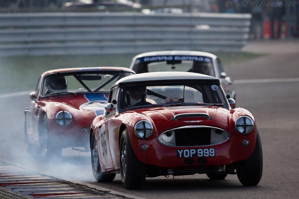 Austin Healey 3000  - Driver: Nils-Fredrik Nyblaeus / Jeremy Welch  - 2015 Historic Grand Prix Zandvoort