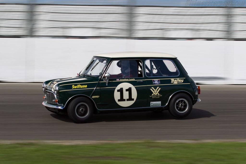 Austin Mini Cooper S  - Driver: Jonathan Lewis  - 2015 Historic Grand Prix Zandvoort