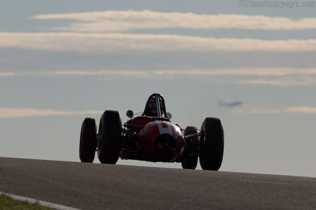 Brabham BT4 Climax - Chassis: IC-3-62 - Driver: Miles Griffiths  - 2015 Historic Grand Prix Zandvoort
