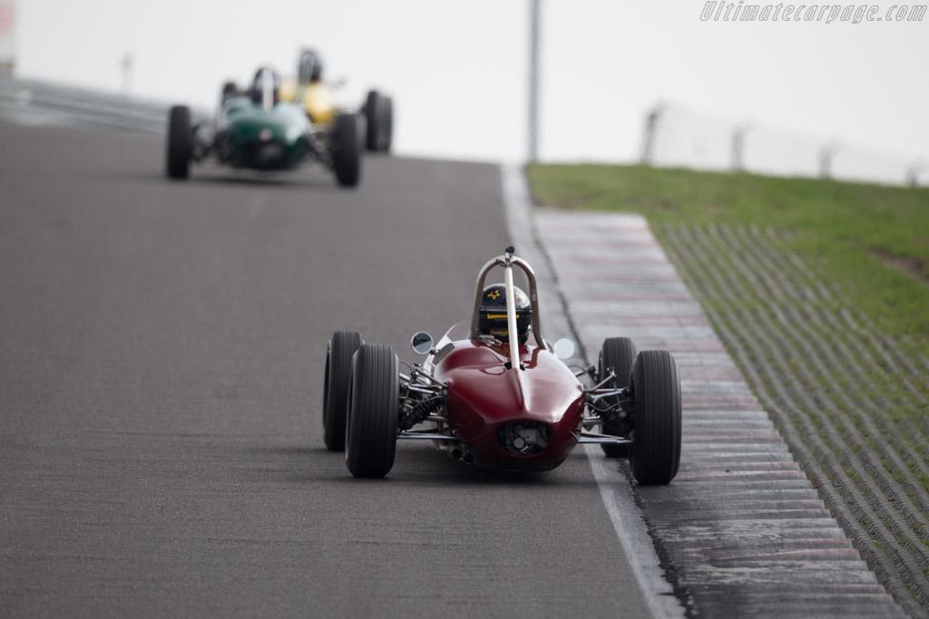 Brabham BT6 - Chassis: FJ-11-63 - Driver: Philipp Buhofer  - 2015 Historic Grand Prix Zandvoort