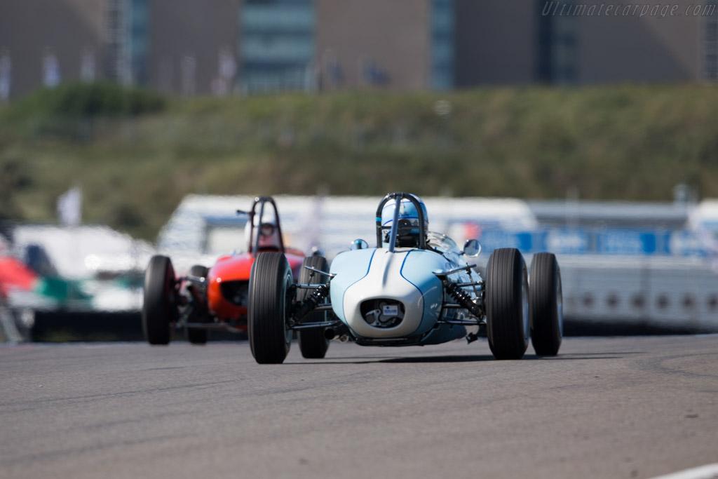 Brabham BT6  - Driver: Caroline Abbou Rossi di Montelera  - 2015 Historic Grand Prix Zandvoort