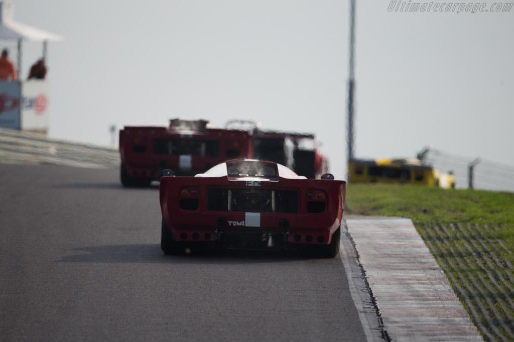 Broadley Lola T70 Mk3B - Chassis: EB1 - Driver: Daniel Gibson  - 2015 Historic Grand Prix Zandvoort