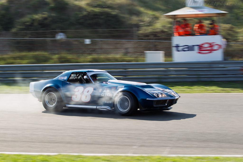 Chevrolet Corvette  - Driver: Alexander van der Lof / Yelmer Buurman  - 2015 Historic Grand Prix Zandvoort