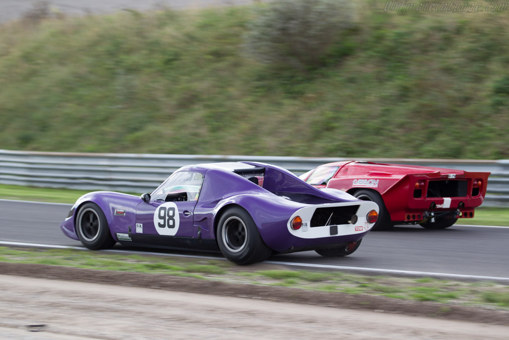 Chevron B8 - Chassis: CH-DBE-48 - Driver: David Smithies / Chris Clarkson  - 2015 Historic Grand Prix Zandvoort