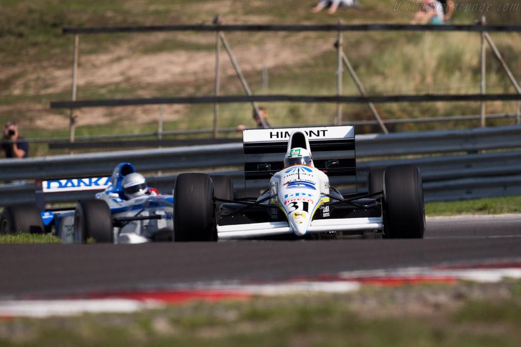 Coloni C4 Ford  - Driver: Pedro Chaves  - 2015 Historic Grand Prix Zandvoort