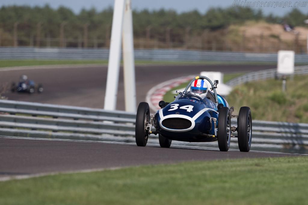 Cooper T43 Climax - Chassis: F2-15-57 - Driver: John Bussey  - 2015 Historic Grand Prix Zandvoort