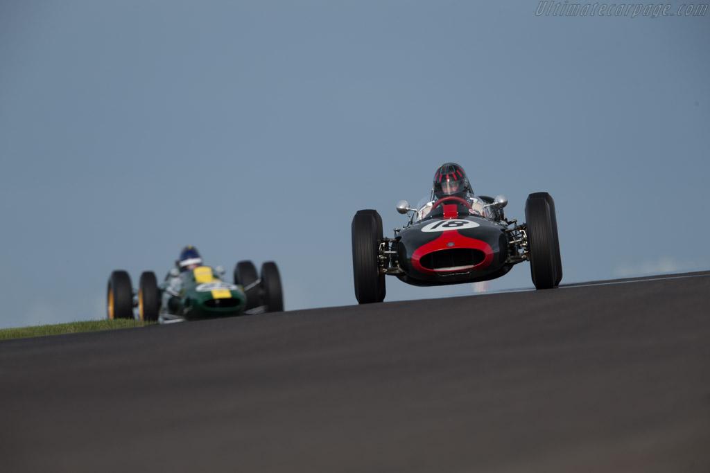 Cooper T53 Climax - Chassis: F1-1-61 - Driver: Wulf Goetze  - 2015 Historic Grand Prix Zandvoort