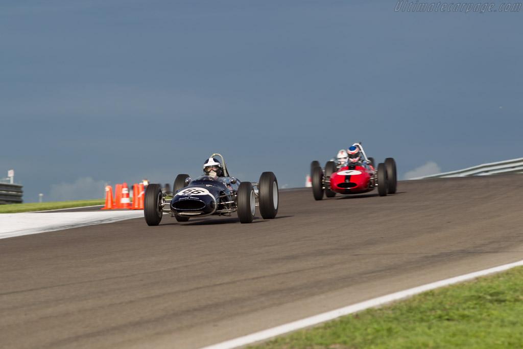 Cooper T66 Climax - Chassis: F1-2-63 - Driver: Sidney Hoole  - 2015 Historic Grand Prix Zandvoort