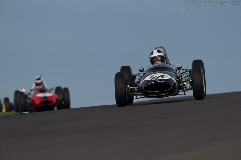 Cooper T66 Climax - Chassis: F1-2-63 - Driver: Sidney Hoole  - 2015 Historic Grand Prix Zandvoort